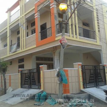 150 sqd Corner G+1 House for sale in Beeramguda