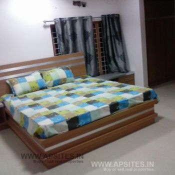 Madhapur near 3 bhk flat for rent gated comminity full furnished 28 k